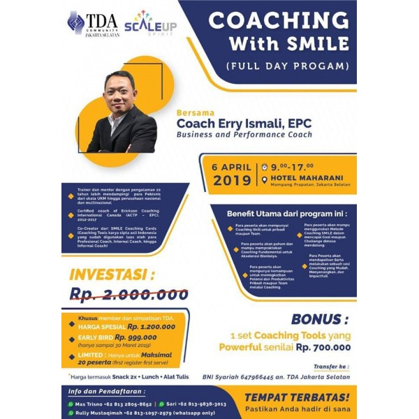 Coaching With SMILE (for Business Owner)